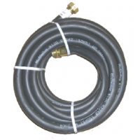 HOSE,WTR,RUB, .62 X 25FT